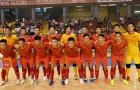 ĐT Futsal Việt Nam chốt 16 cầu thủ dự VCK World Cup 2021