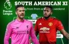 ĐH 11 sao Nam Mỹ vắng mặt ở vòng 4 NHA: Máy quét Man Utd, bộ ba Liverpool