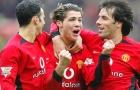 Đội hình đáng khao khát của M.U ngày Ronaldo ra mắt năm 2003