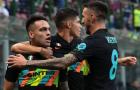 Đánh tennis với Bologna, Inter Milan tạm chiếm ngôi đầu Serie A
