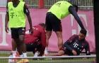 2 sao Bayern va chạm trên sân tập, CLB lo sốt vó