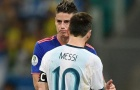 CHÍNH THỨC! James Rodriguez có bến đỗ mới, mở ra cơ hội đá cặp cùng Messi