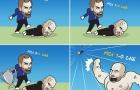 Cười té khói với loạt ảnh chế Man City thắng Chelsea
