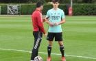 Chấn thương của Granit Xhaka có thể tạo cơ hội chào sân cho 'tiểu Messi'