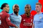 Đội hình kết hợp lý tưởng Liverpool và Man City