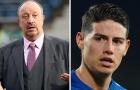 Rafa Benitez: ′′James Rodriguez chỉ thích một cuộc sống thoải mái và tiền bạc'