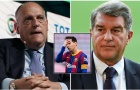 Barca mất Messi do Florentino Perez xúi giục?