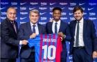 Ansu Fati rạng rỡ trong ngày gia hạn, nói rõ về việc thừa kế Messi