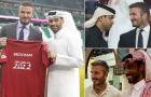 David Beckham hái ra tiền với Qatar