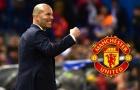 Vì Ronaldo, M.U phải đưa Zidane về Old Trafford