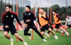 Varane tái xuất, Man Utd hăng say tập luyện trước trận gặp Tottenham