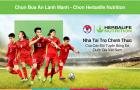 Lần đầu tiên Herbalife chính thức đồng hành cùng đội tuyển Bóng đá Việt Nam