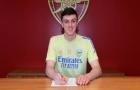 XONG! Arsenal ký hợp đồng với trung vệ tiềm năng