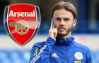 Số áo đẹp như mơ dành cho bom tấn tiếp theo của Arsenal
