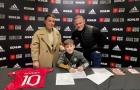 XONG! Truyền nhân Rooney gia nhập Man Utd