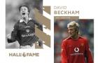 CHÍNH THỨC! David Beckham bước vào ngôi đền huyền thoại Premier League