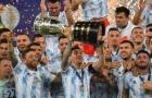 Hành động cho thấy tầm vóc của Messi sau khi vô địch Copa