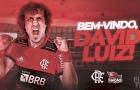 CHÍNH THỨC! David Luiz đáp bến đỗ mới, sát cánh cùng sao M.U