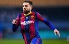 Jordi Alba: 'Barca không xứng đáng phải nhận thất bại nghiệt ngã này'