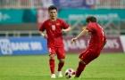 Pha sút phạt thần sầu của Minh Vương xé lưới Hàn Quốc