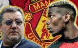 Raiola 'lật mặt', gây ngã ngửa vụ Pogba đòi rời Man Utd