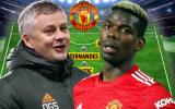 Man Utd đấu Liverpool: Song tấu Pogba - Fernandes, Cavani thay Martial?