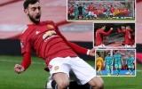 5 điểm nhấn Man Utd 3-2 Liverpool: Bruno thiên tài, Rashford và Greenwood 'tung hứng'
