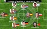 Đội hình đỉnh nhất thập kỷ: Premier League chỉ có 1 cái tên, Real áp đảo