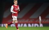 Aubameyang nhấn chìm Benfica, Martin Odegaard như 'phát điên'
