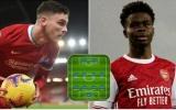 Đội hình những ngôi sao Premier League nhận lương 'bèo' nhất: 'Đắng lòng' Foden - Saka, cú sốc Rice