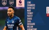 TRỰC TIẾP Burnley vs Arsenal: Aubameyang lĩnh xướng hàng công