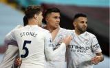 Không tốn quá nhiều mồ hôi, Man City nhẹ nhàng đánh bại Aston Villa