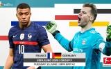 TRỰC TIẾP Pháp vs Đức: Benzema đá chính, Timo Werner dự bị