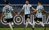 Messi gánh team, Argentina bất phân thắng bại với Chile