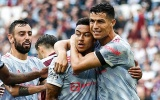 Ronaldo phản ứng ngỡ ngàng trước siêu phẩm của Lingard