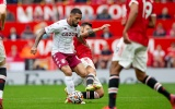 TRỰC TIẾP Man Utd 0-0 Aston Villa (HT): Ronaldo sút phạt
