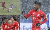 Vượt qua mưa tuyết, Bayern tiếp tục thị uy sức mạnh tại Bundesliga