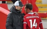 Jurgen Klopp xác nhận tình hình chấn thương của Henderson