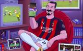 Tương lai Zlatan Ibrahimovic coi như được định đoạt