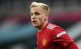 Chia tay Man Utd, lộ bến đỗ tiềm năng của Van de Beek