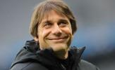 Conte không giấu nổi nụ cười sau khi Milan và Juventus mất điểm