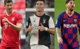 Vượt CR7 và Messi, Lewandowski xuất sắc nhất thế giới