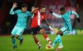 7 thống kê đáng chú ý sau trận Southampton 1-0 Liverpool: 'Khắc tinh' của các nhà ĐKVĐ lộ diện
