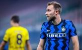 Eriksen trở thành 'Người không phổi', Inter nhọc nhằn vào tứ kết Coppa Italia