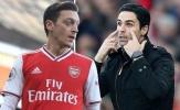 Mikel Arteta tiết lộ diễn biến việc Mesut Ozil thanh lý hợp đồng với Arsenal