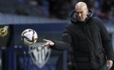 Chưa bao giờ Zidane lại có khởi đầu tồi tệ đến thế