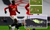 Pogba nhảy múa giữa 3 cầu thủ Fulham trước khi 'bón hành' cho Areola