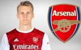Với Martin Odegaard, Arsenal sẽ chơi với đội hình nào?