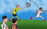 Cười té khói với loạt ảnh chế vòng 1/8 Champions League