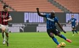 Lukaku quá đẳng cấp, Inter thắng đậm trận derby Milan